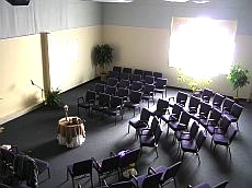 Interfaith Center for Spiritual Growth - Ann Arbor nondenominational weddings, union ceremonies, & events - view of sanctuary from above