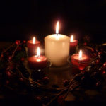 christmas eve candles_ann arbor