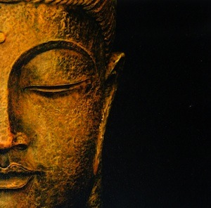 Buddha image for the Interfaith Center in Ann Arbor.