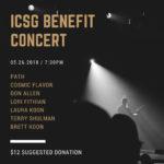 ICSG BENEFIT CONCERT - 04//26/2018 PATH, Cosmic Flavors, Don Allen, Lori Fithian, Laura Koon, Terry Schulman, Brett Koon